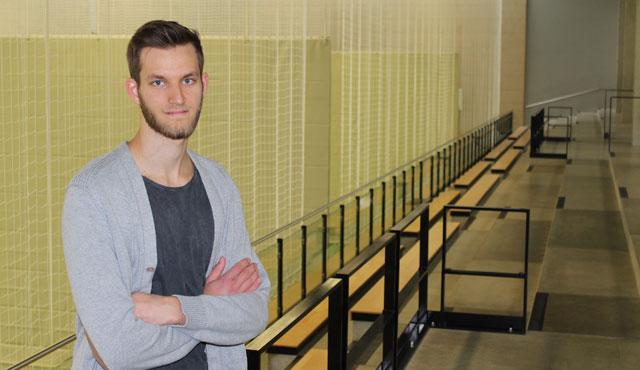 """Vom """"Projekt"""" zum Bundesligaspieler gereift - Foto: Moritz Liss"""