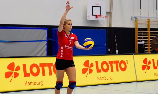 Nina Braack ist die Konstante bei VT Aurubis Hamburg - Foto: Christel Opitz-Lüders / VT Aurubis Hamburg