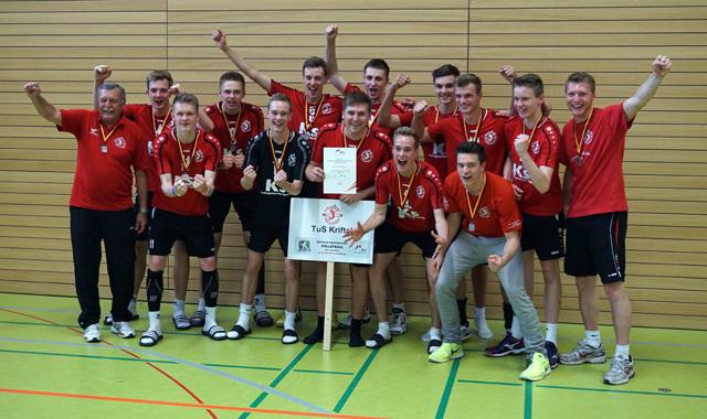 Krifteler Volleyballnachwuchs Deutscher Vizemeister - Foto: TuS Kriftel
