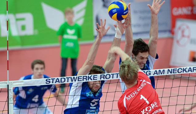 Fasnet in der ZF Arena gegen Rottenburg - Foto: Günter Kram