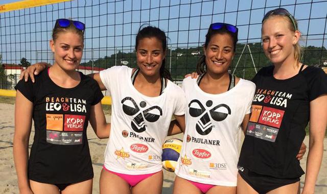SV Lohhof: 2. Platz für die Standhardinger-Zwillinge beim A- Turnier in Weingarten - Foto: SV Lohhof