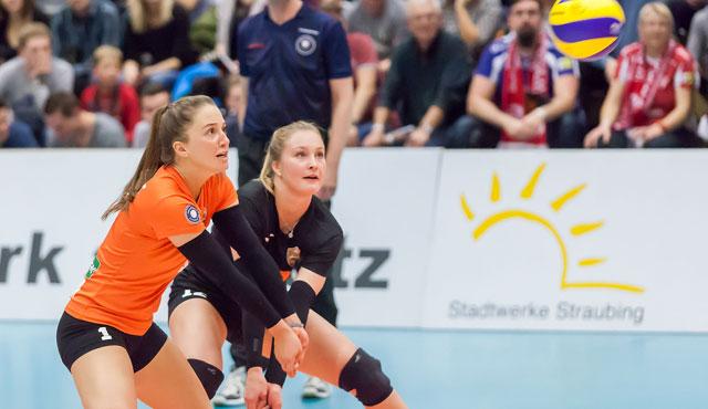 Straubings Volleyballerinnen empfangen am Samstag, 19.30 den VC Neuwied - Foto: Schindler