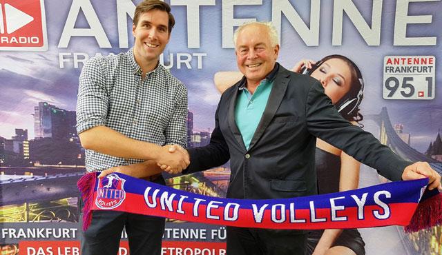 """Noch mehr """"Airtime"""" für die United Volleys - Foto: United Volleys"""