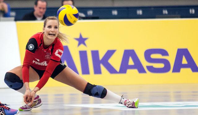 Linda Dörendahl erreicht mit Münster die Halbfinal-Playoffs<br>Foto: Daniel Wesseling/USC Münster