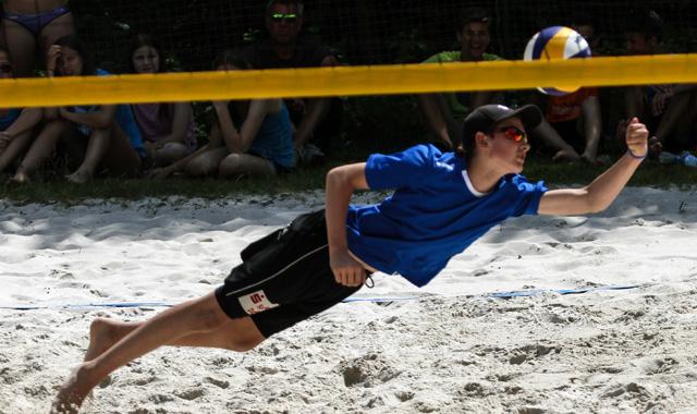 Schwandorf freut sich auf beste Beachvolleyball-Talente Bayerns der Altersklasse U15 - Foto: pr