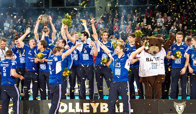 Friedrichshafen ist im DVV-Pokalachtelfinale gefordert - Foto: Günter Kram