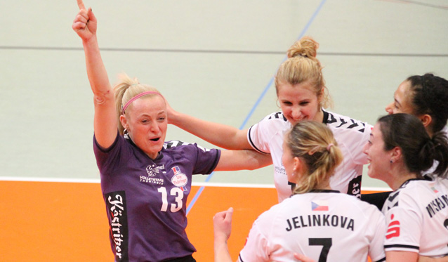 Der VolleyStars-Abstiegskampf in der 1. Volleyball Bundesliga - Foto: R. Siegling, Dynamics Suhl