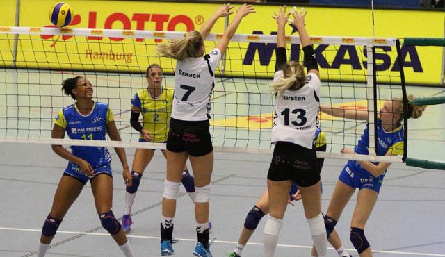 Volleyball-Team Hamburg verliert gegen Bundesligisten - Foto: VTH/Lehmann