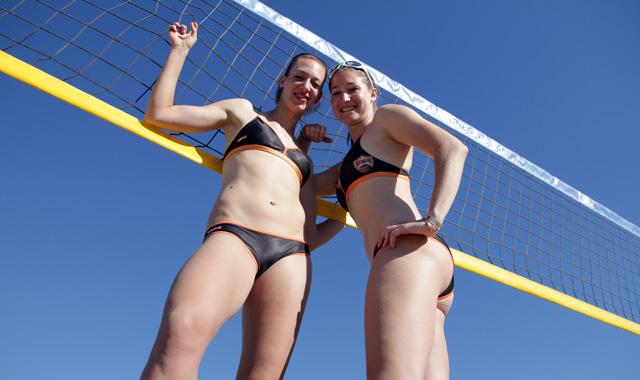 NawaRo Beach-Team Karnbaum/Niemczyk mit komfortabler Startposition - Foto: Andre Bugl
