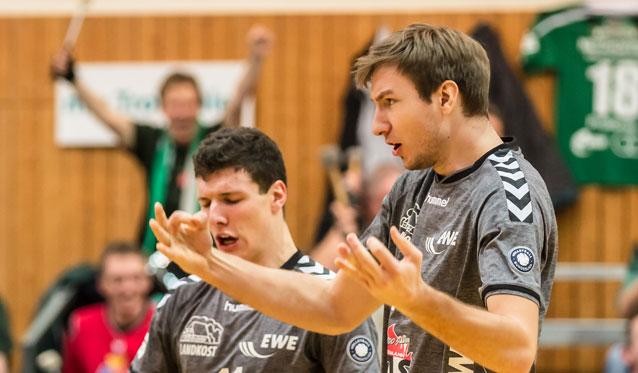 NETZHOPPERS begeistern mit 3:0-Erfolg zum Hauptrunden-Abschluss - Foto: Gerold Rebsch