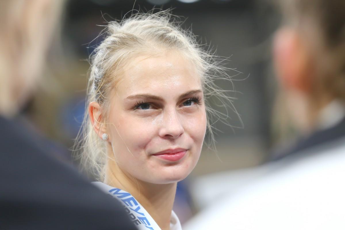 Neuverpflichtung und Abgang im Mittelblock: Selma Hetmann kommt, Eszter Nagy geht - Foto: Detlef Gottwald