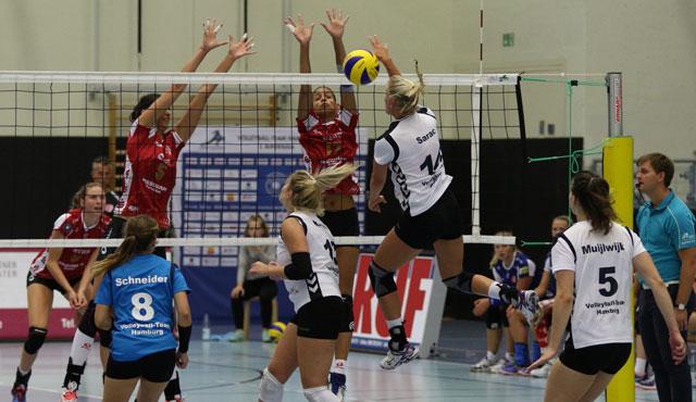 Volleyball-Team Hamburg verliert Testspiel gegen Potsdam - Foto: VTH/Lehmann