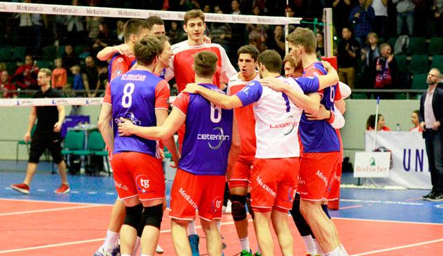 """""""Ex und Hopt"""": Mit Schwaben-Rotation zum 3:0-Erfolg - Foto: United Volleys/Gregor Biskup"""