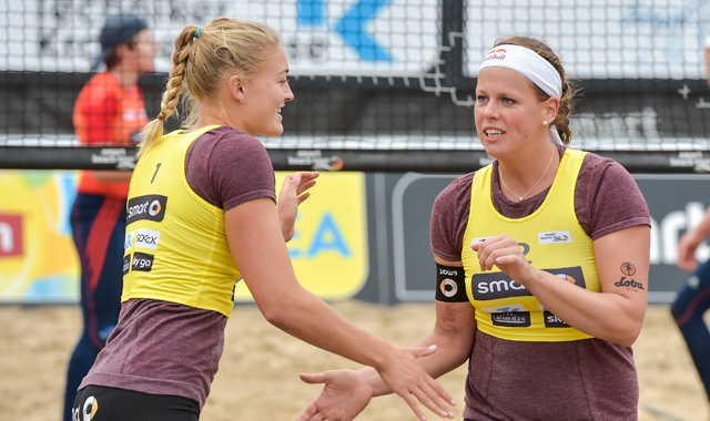 Bühte/Arnholdt: Siebter DM-Platz bei Beachvolleyball-DM - Foto: Tom Bloch/pro talents