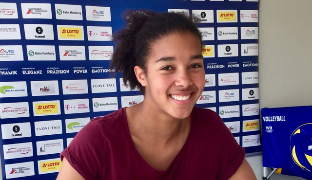 Hannah Mörke schließt sich dem Volleyball-Team Hamburg an - Foto: VTH