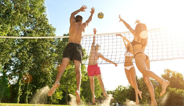 Deutschland und die Volleyball-Liebesgeschichte - Foto: Fotolia.com © Zsolnai Gergely
