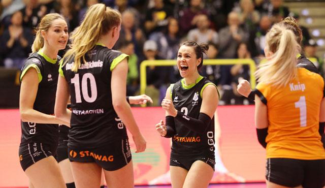 Ladies in Black Aachen gewinnen NRW-Derby mit 3:1 - Foto: Ladies Black Aachen // Andreas Steindl