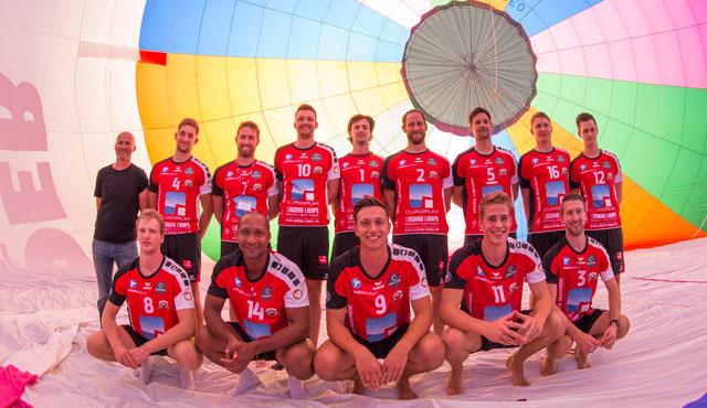 Wer wird denn gleich in die Luft gehen? - Foto: VC Eltmann / Oshino Volleys Eltmann