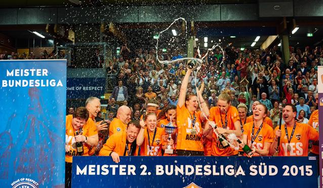 NawaRo beendet perfekte Saison mit souveränem Heimsieg gegen den VV Grimma - Foto: German Popp
