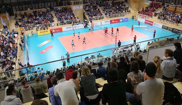 VCW: Großes Interesse am Playoff-Halbfinale - mehr als die Hälfte aller Tickets bereits verkauft - Foto: Detlef Gottwald