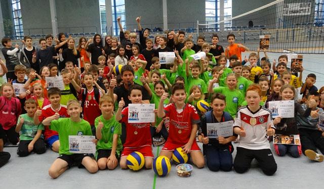 Grundschulen im Landkreis Miltenberg im Volleyball-Fieber - Foto: pr