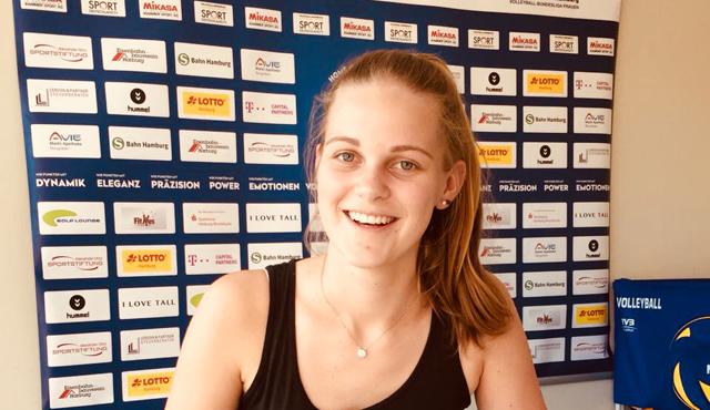 Svea Frobel wechselt zum Volleyball-Team Hamburg - Foto: VTH