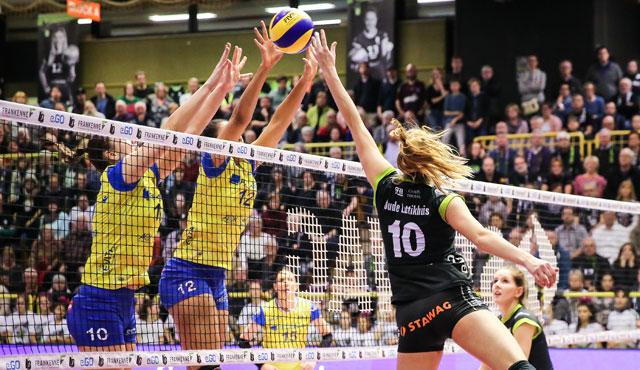 Ladies in Black Aachen holen 1 Punkt in unfassbarem Match - Foto: Ladies Black Aachen // Luz Müller
