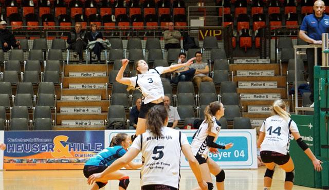 Volleyball-Team Hamburg erwischt gebrauchten Tag  - Foto: VTH