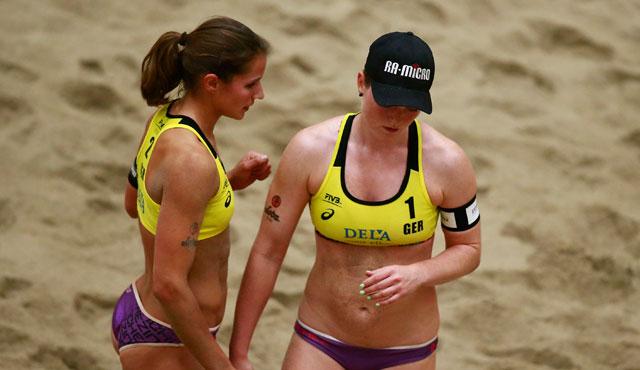 Beachvolleyball-Team Laboureur/Sude auf Klettertour: Weltranglisten-Zweite! - Foto: www.fivb.org