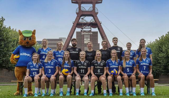 Spitzenreiter VC Allbau Essen empfängt den Vorjahresmeister SV Bad Laer  - Foto: VC Allbau Essen