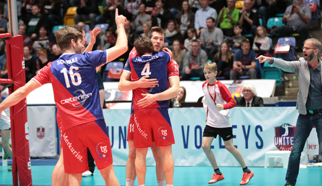 """""""Williams hat was in der Birne"""" - Foto: United Volleys/Gregor Biskup"""