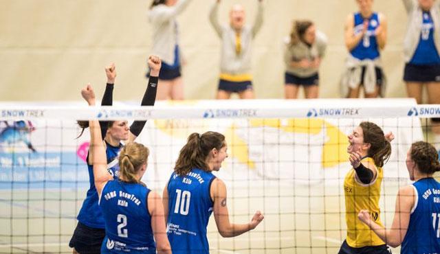 DSHS SnowTrex Köln dreht Spiel gegen Borken - Foto: Martin Miseré