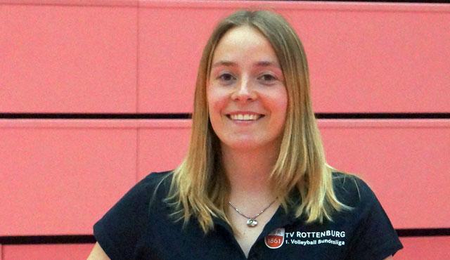 Lajana Kampf ist neue Team- und Eventmanagerin des TV Rottenburg - Foto: TVR Volleyball