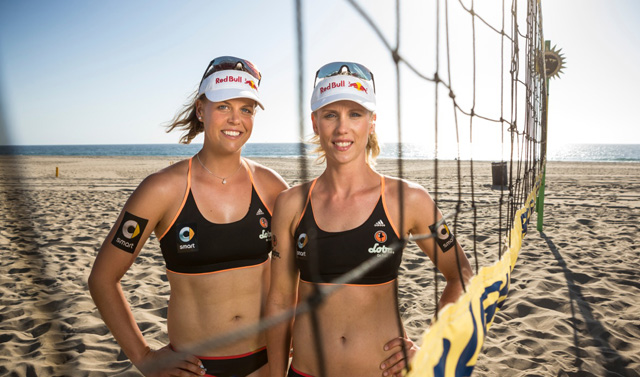 Britta Büthe und Karla Borger<br>Red Bull Contentpool/ Fotograph: Garth Milan
