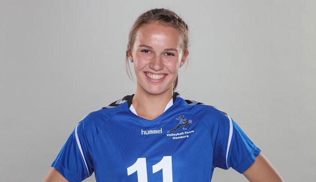 Lene Stegelmann unterschreibt beim Volleyball-Team Hamburg  - Foto: Agentur Freitag