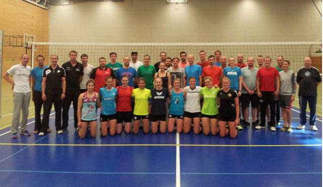 A-Trainer-Ausbildung bei den DSHS SnowTrex Köln-Volleyballerinnen - Foto: DSHS SnowTrex Köln