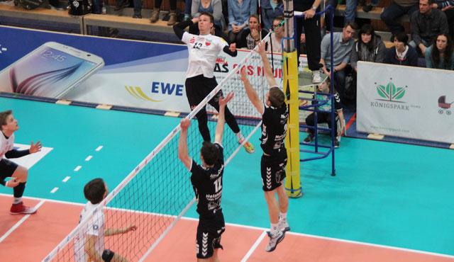 TV Rottenburg verliert bei Netzhoppers und muss in die Playdown-Runde - Foto: Moritz Liss