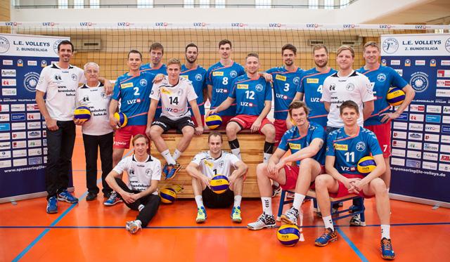 Leipziger Volleyballer auch im vierten Saisonspiel erfolgreich - Foto: Elmar Keil