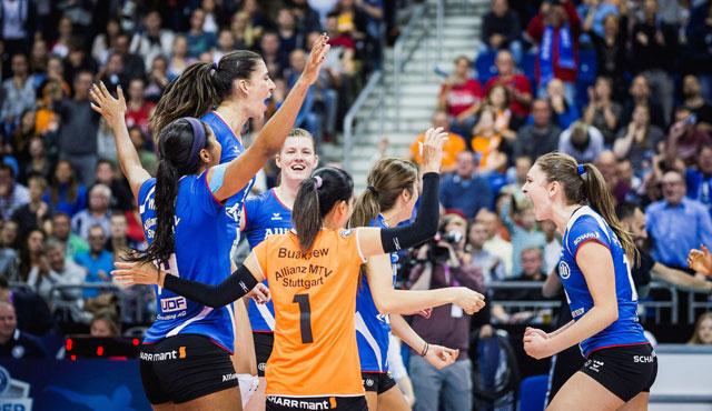 Guter Start für den Volleyball Supercup  - Foto: Sebastian Wells (www.sebastianwells.de)