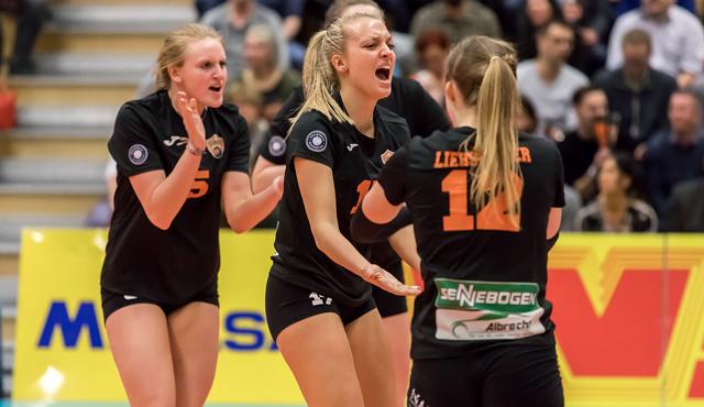 Volleyball-Derby zwischen NawaRo Straubing und Sonthofen am Samstag - Foto: Schindler