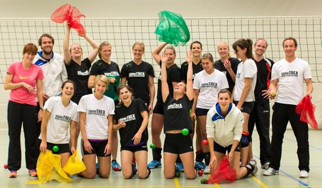 Zehnwöchige Lifekinetik-Studie beim Volleyballteam DSHS SnowTrex Köln - Foto: Martin Miseré