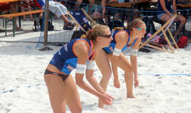Vier Matchbälle reichten NawaRo Beach-Team nicht zum Sieg in Oberschleißheim - Foto: Patrick Schrepf