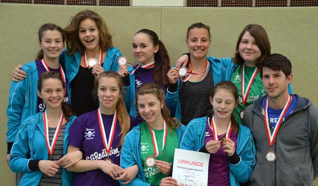 U18 Mädels der SG Rodheim holen Bronze beim Hessenpokal - Foto: Marcel Kopperschmidt