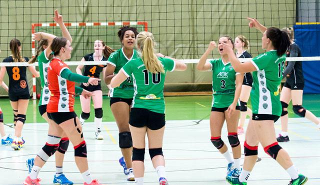 proWIN Volleys TV Holz präsentieren 2018 die Deutschen Meisterschaften U18 weiblich - Foto: Georg Kunz