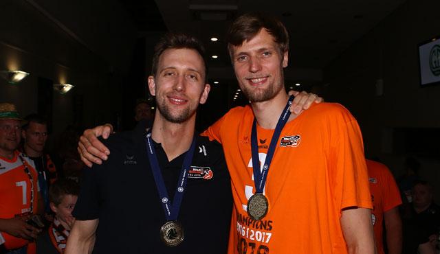 Paul Carroll und Robert Kromm <br>Foto: Eckhard Herfet