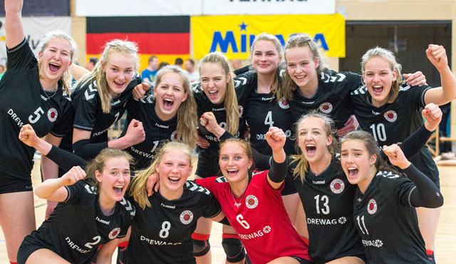 Dresdner SC gewinnt das Finale der Deutschen Meisterschaft Volleyball U18 weiblich - Foto: Georg Kunz