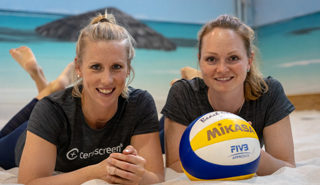 Karla Borger und Julia Sude<br>Foto: Tom Bloch