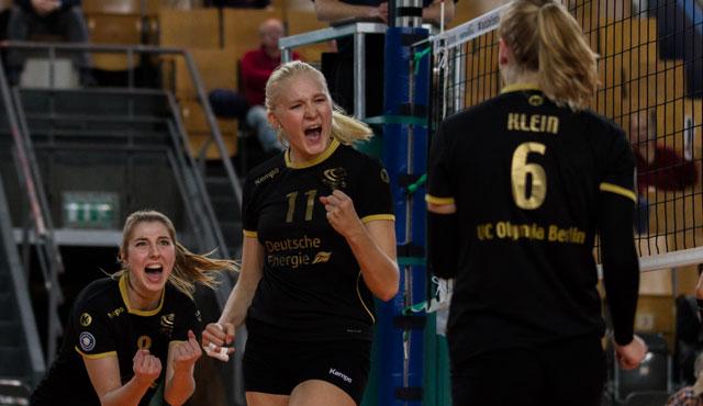 Deutsche Juniorinnen in Berlin vor fünftem Saisonspiel in der 1. Volleyball Bundesliga - Foto: Frank Ziegenrücker