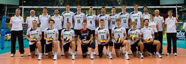 deutsche volleyball nationalmannschaft herren