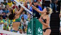 Aufgrund einer Schulter-OP konnte Laura Ludwig zu Beginn der Saison noch nicht voll angreifen Foto: FiVB
